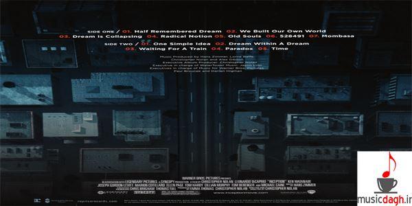 دانلود چهار موسیقی منتخب از فیلم Inception اثر هانس زیمر