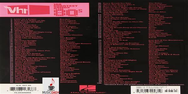 دانلود ۱۰۰ آهنگ برتر دهه 8۰ میلادی